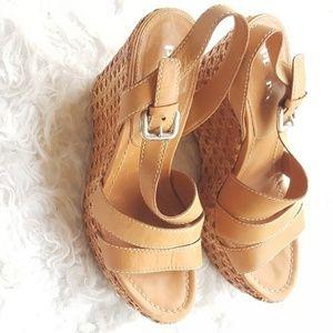 Prada Size 11 Wedges Sandals